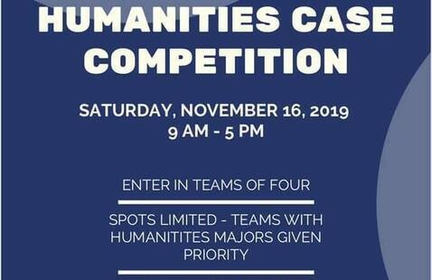 First Annual Humanities Case Competition