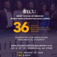 36th Annual Andrew A. Best, MD Senior Recognition Banquet