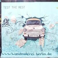 Berlin Wall Interactive Art Exhibit