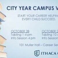 City Year Campus Visit - Tabling