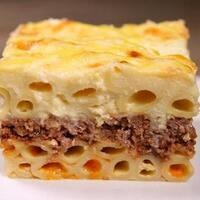 C-Cubed Luncheon - Greek Beef Pastitsio and Lentil Pastitsio