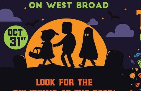 Trick-or-Treat on West Broad