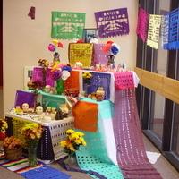 Día de los Muertos Altar and Display