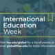 Show your Flag!  International Education Week kick-off event