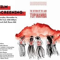 "Film screening: ""Tupinambá - The Return of the Land"""