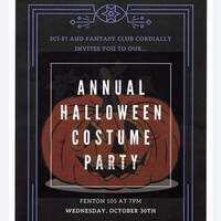 Sci-fi and Fantasy Annual Halloween and Costume party