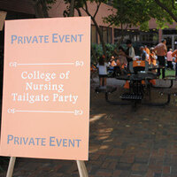 College of Nursing Homecoming Tailgate
