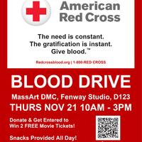 BLOOD DRIVE - American Red Cross