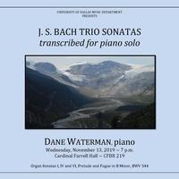 Dan Waterman Piano Recital