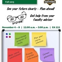 Advising Week Nov 4 -8  ( AN Campus)