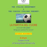 Italian Department Soccer Game