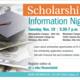 Scholarship Information Night- Westshore Campus