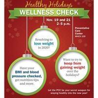 Healthy Holidays Wellness Check