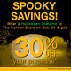 Spooky Savings at the Weill Cornell Medicine Store