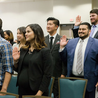 2019 Fall Swearing In Ceremony