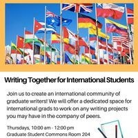 Writing Together for International Students