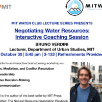 MIT WATER LECTURE SERIES