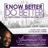 NPHC & DMSA Diversity Lecture: The Black & White Politics of Campus Racism