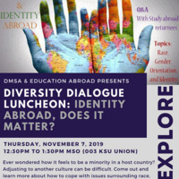 Diversity Dialogue Luncheon: Identity Abroad, Does it Matter?