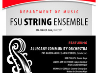 FSU String Ensemble and Allegany Community Orchestra