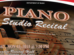Piano Studo Recital
