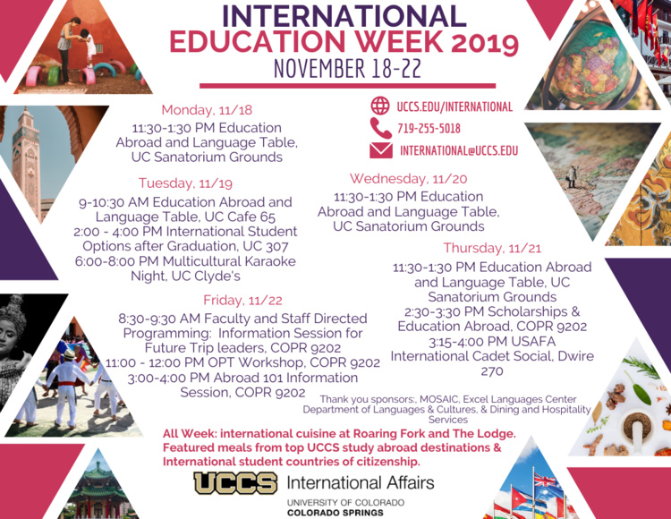 Education Abroad and Language Table