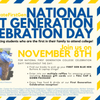 First Generation Celebration Day