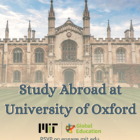 Oxford: How to study abroad through MIT