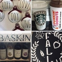 Make a Personlized Gift with Vinyl
