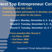 DELTA Rx Next Top Entrepreneur Competition!