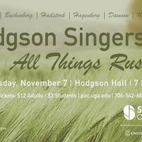 Hodgson Singers: All Things Rush On