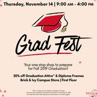 2019 Fall Grad Fest