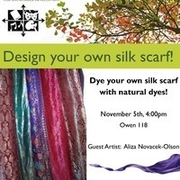 Dye your own silk scarf naturally!