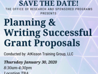 Planning & Writing Successful Grant Proposals