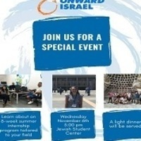 Onward Israel Information Session