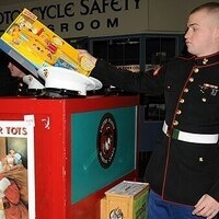 NROTC Toys for Tots Donation Drive
