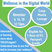 Wellness In the Digital World