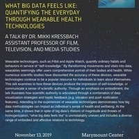 What Big Data Feels Like: Quantifying the Everyday Through Wearable Health Technologies