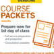 Spring Course Packet Submissions Due