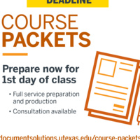 Fall Course Packet Submissions Due