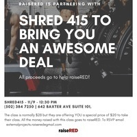 Shred415 and raiseRED workout class