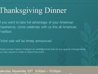 LL.M. Thanksgiving Dinner