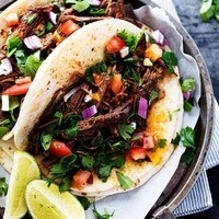 C-Cubed Luncheon - Beef Barbacoa and Roasted Butternut Squash Wild Rice Tacos