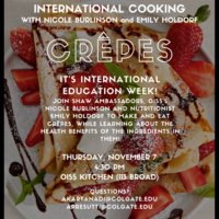 International Cooking: Crepes