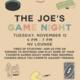 The Joe's Game Night