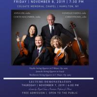 The Manhattan String Quartet Concert
