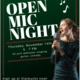 Starbucks Open Mic Night