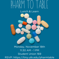 Pharm to Table: Lunch & Learn