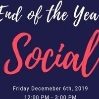 End of Semester Social