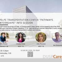 Volpe Transportation - Pathway Internships info session
